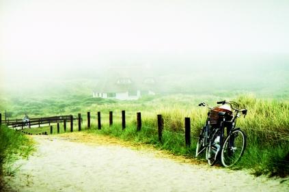Pyörät hiekkatiellä