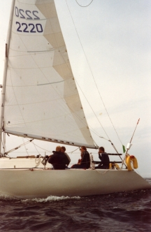 Ron Holland båten Suomenlahden Kone flyger