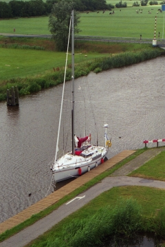 S.y Naneux matkalla Lauersmeerille