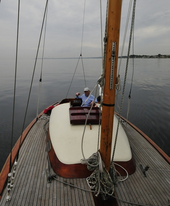 S/y Brus and the skipper Sven
