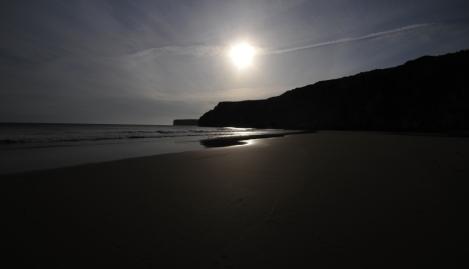 Praia Rocca nigt panorama