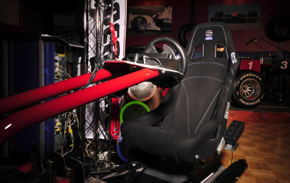 This was the ultimate F1 racing machiine in the Studio