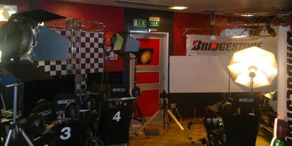 Racing Studion 2013 tyttökuvaukset