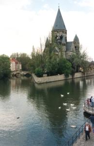 Metz kauniita kanavia