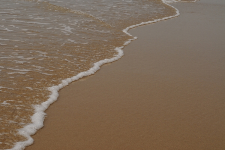 Sand and clean ocean water