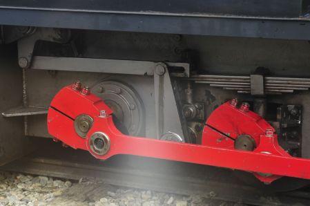 En tren del fin del mundo drive shafts