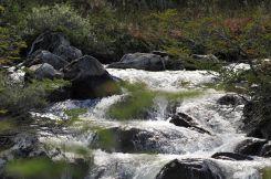 Lago Esmeralda vesiputoukset