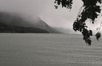 Lago Roca Den Fin Del Mundo