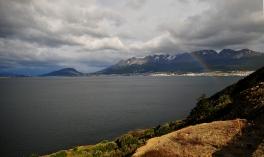 Ushuaia from pPaya Larga