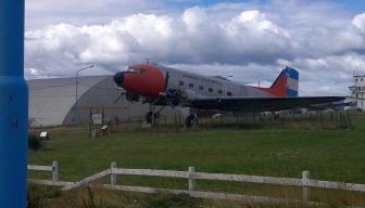 Vanha lentokenttä maskotti DC3