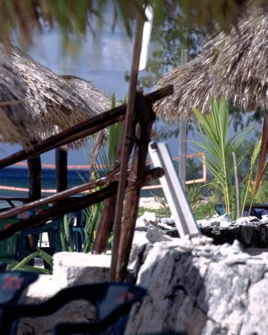 Beach wiew in Cozumel