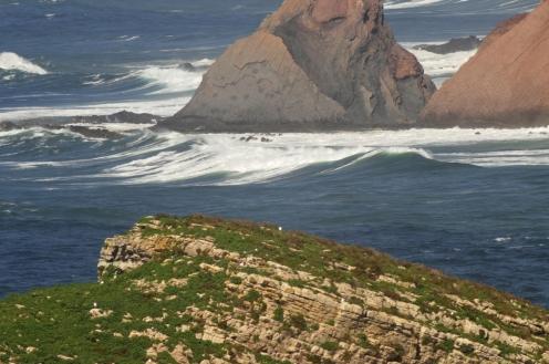 Cabo St Vincent kallioita
