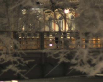 kaupungintalo talvella 2010