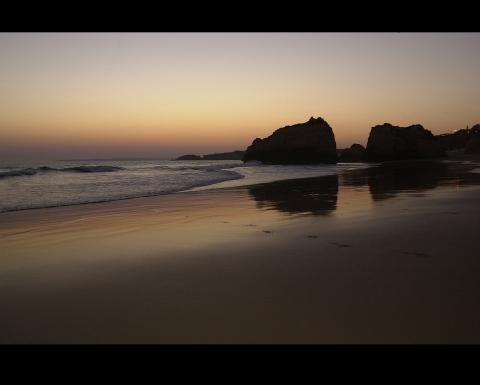 Praia Rocha kuuluisa ranta