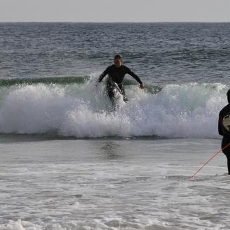 Surffari tulossa rantaan