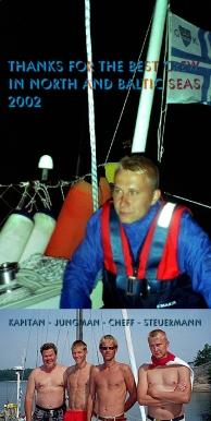 2002 purjehdus tervehdys