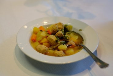 Traditional finish soup
