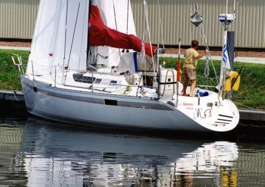 Naneux hollannissa valmiina reissuun 2002