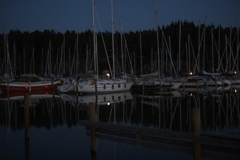 Porta Marina in the evening