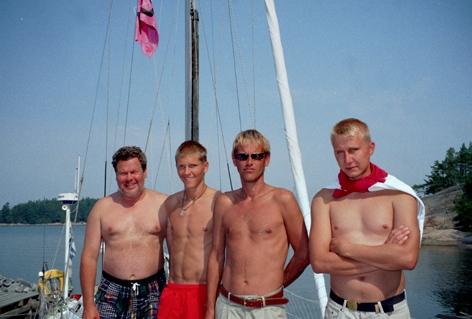 Sy Naneux miehistö 2003
