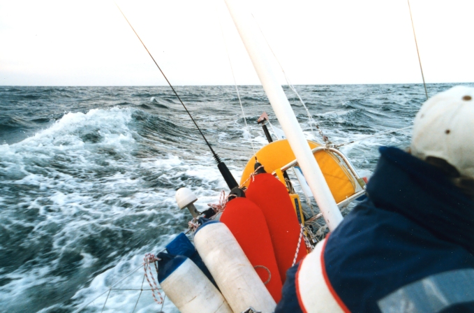 Itämerellä jossain