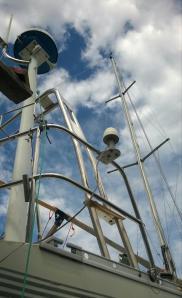 New targa for the antennas.