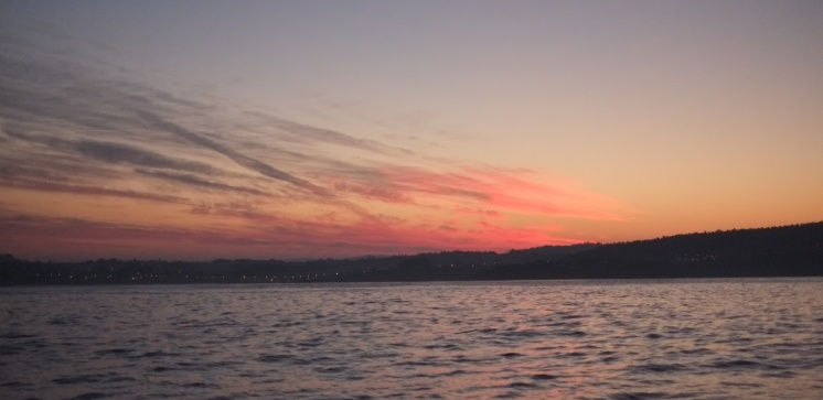 Another beautifull sunset near Bayona