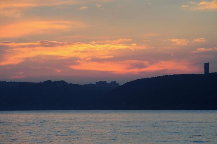 Sunset Brest