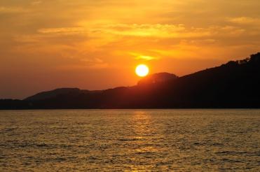 Sunset Goulet Du Brest