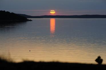 Sunset in Airisto July