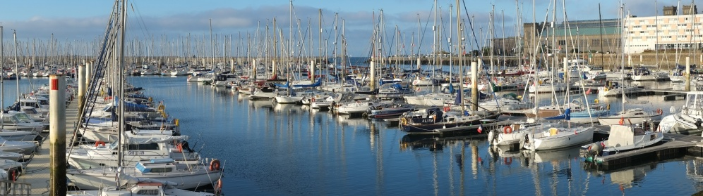 Cherbourg harbour