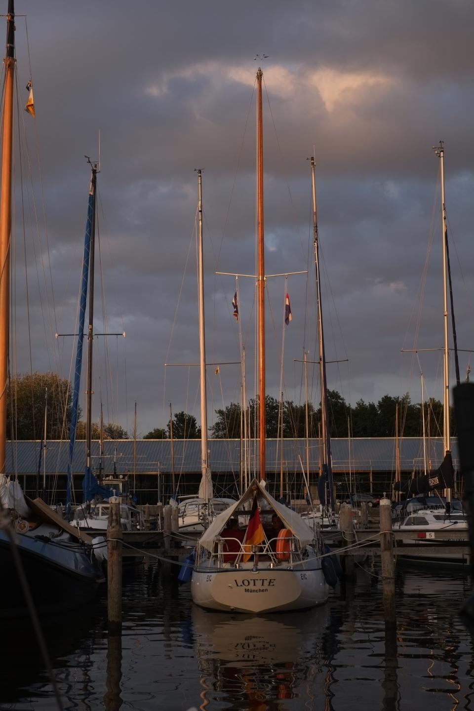 Lauersoog harbour