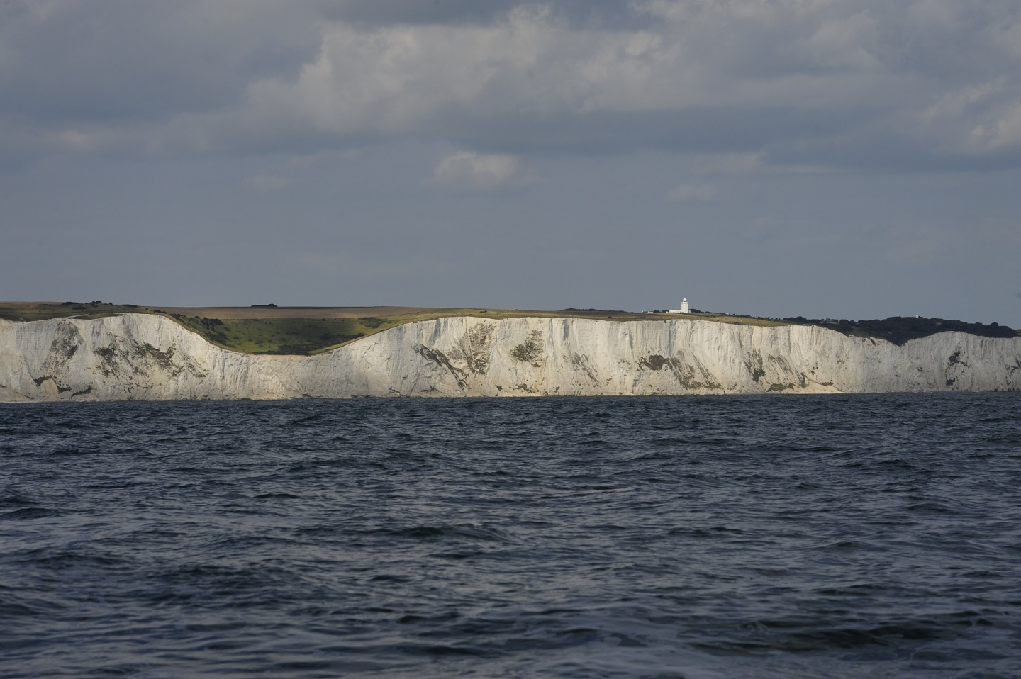 Leaving the white cliffs