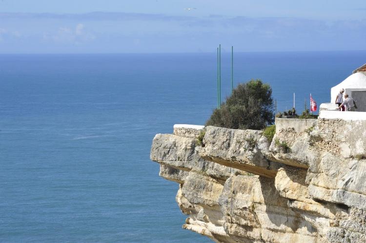 Lighthouse cliff, Nazaré