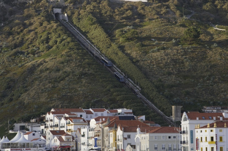 The way up, Nazaré