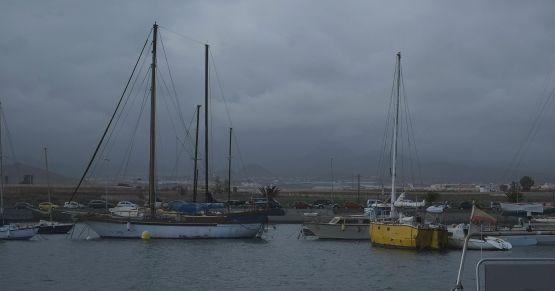 Las Galletas old harbor