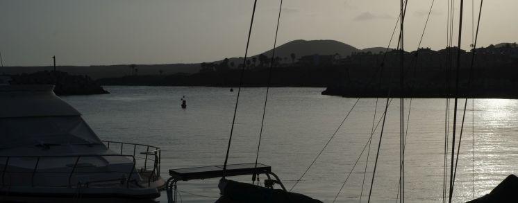 Puerto San Miguel sunset