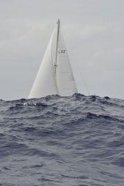 Sy Clary in Atlantic waves