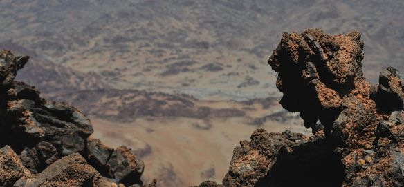 Teide volcanic formations