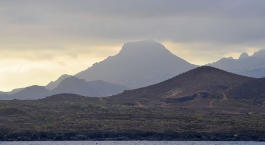 Southermost mountain in Tenerife