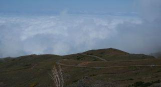 Roads on Pico Arreiro