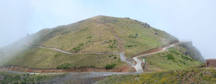 Roads around the hill