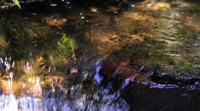 Water crystal clear