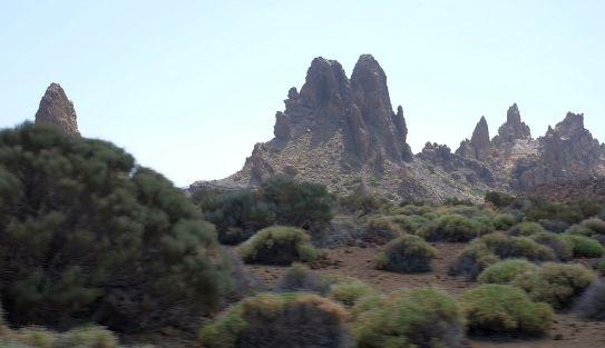 Teide valleys