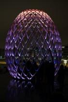 Light installation Egg.2