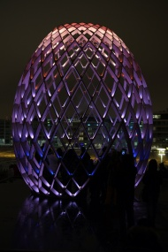 Light installation Egg.2