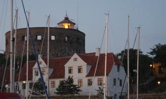 Lighthouse in Christiansö