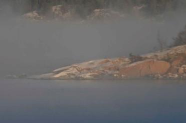 Beautifull sea mist