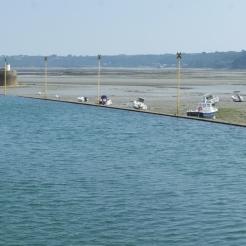 St Brieux basin low tide